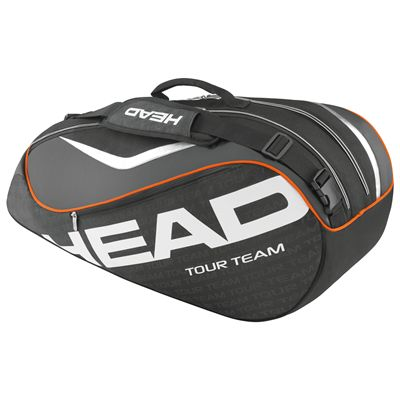 Head Tour Team Combi 6 Racket Bag-Black