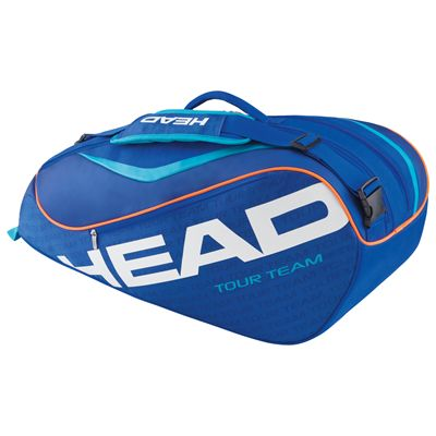 Head Tour Team Combi 6 Racket Bag-Blue