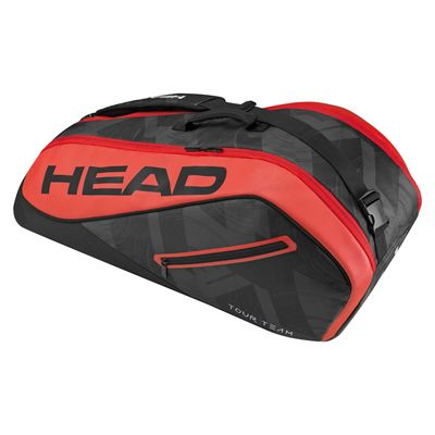 Head Tour Team Combi 6 Racket Bag SS17 - Black/Red