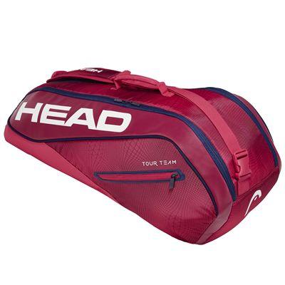 Head Tour Team Combi 6 Racket Bag SS19 - Red