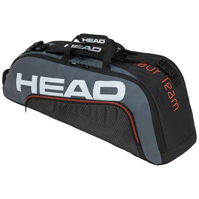 Head Tour Team Combi 6 Racket Bag SS20 - BlackGrey