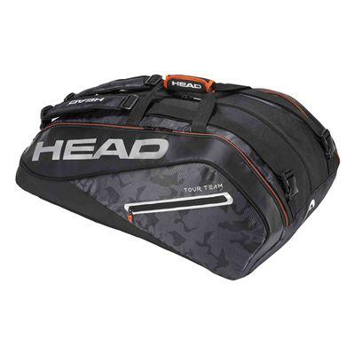 Head Tour Team Monstercombi 12 Racket Bag AW17 - Black/Silver