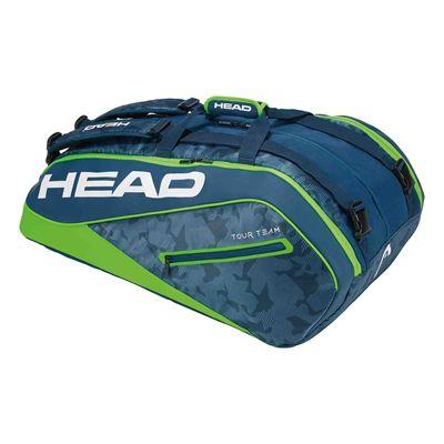 Head Tour Team Monstercombi 12 Racket Bag AW17 - Green