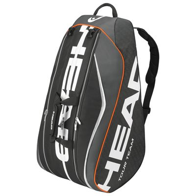 Head Tour Team Monstercombi 12 Racket Bag-Black-Horizontal View