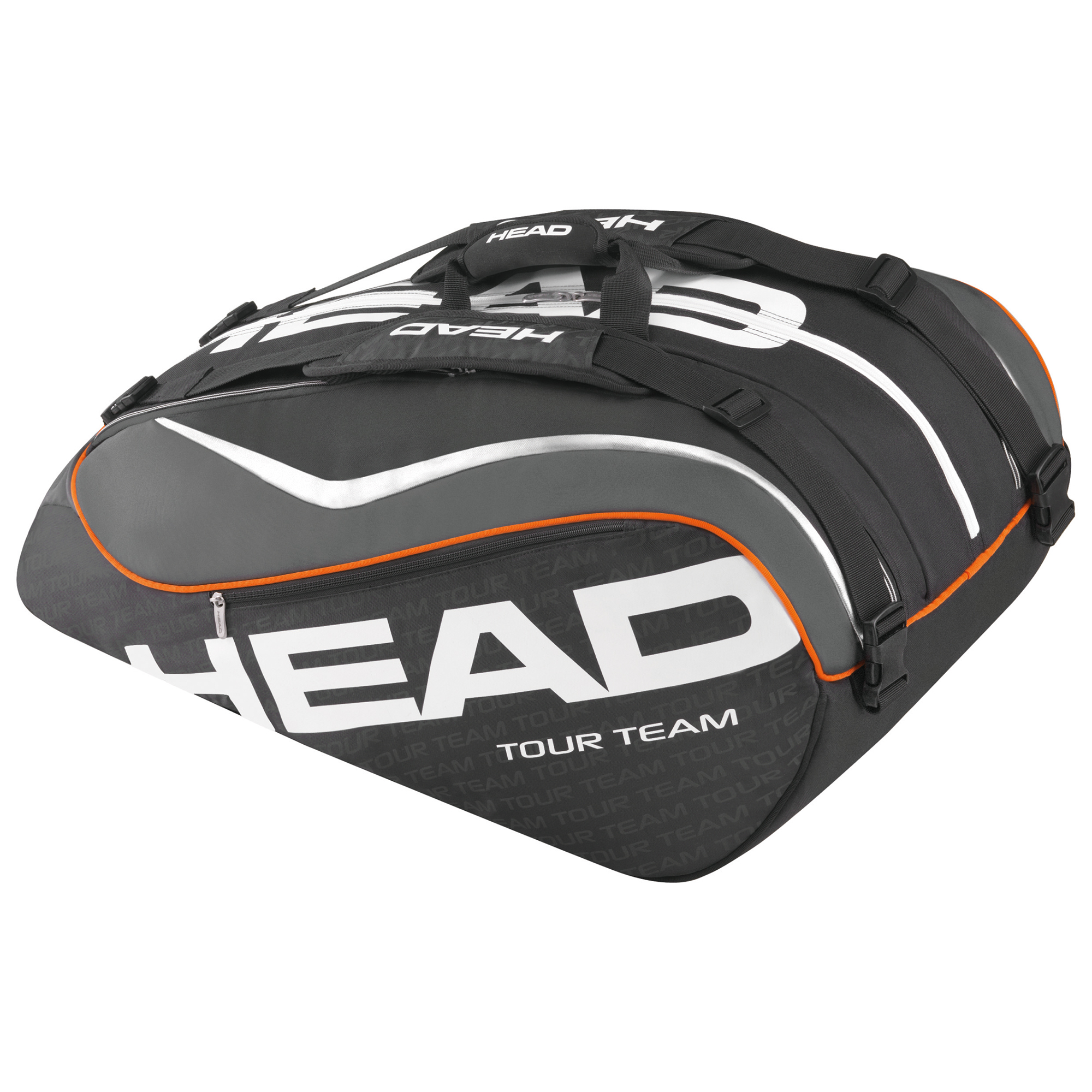 Head Tour Team Monstercombi 12 Racket Bag SS15  Black