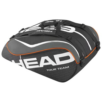 Head Tour Team Monstercombi 12 Racket Bag-Black