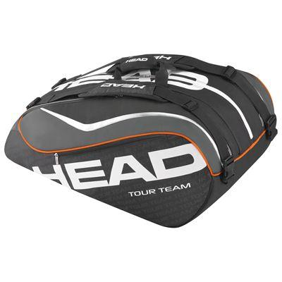 Head Tour Team Monstercombi 12 Racket Bag-Black