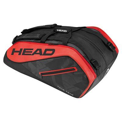 Head Tour Team Monstercombi 12 Racket Bag - Black/Red