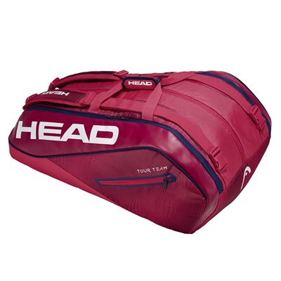Head Tour Team Monstercombi 12 Racket Bag SS19 - Red