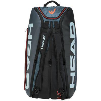 Head Tour Team Monstercombi 12 Racket Bag SS20 - Grey - Stand