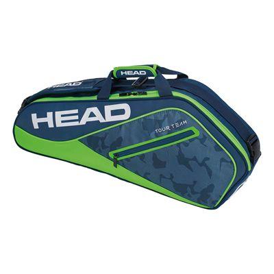 Head Tour Team Pro 3 Racket Bag AW17 - Navy/Green