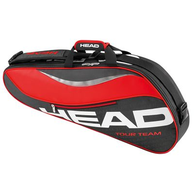 Head Tour Team Pro 3 Racket Bag-Black and Red