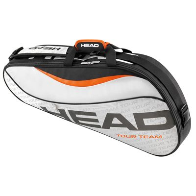 Head Tour Team Pro 3 Racket Bag-Silver and Black
