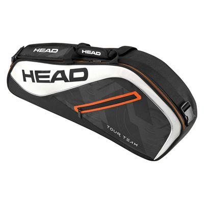 Head Tour Team Pro 3 Racket Bag - Black/White