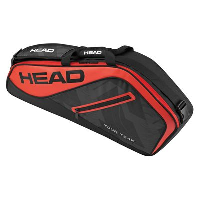 Head Tour Team Pro 3 Racket Bag - Black/Red