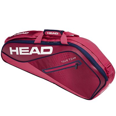 Head Tour Team Pro 3 Racket Bag - Red