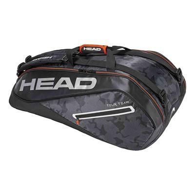 Head Tour Team Supercombi 9 Racket Bag AW17 - Black/Silver