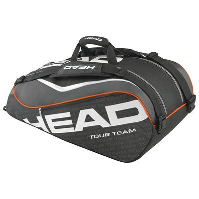Head Tour Team Supercombi 9 Racket Bag-Black