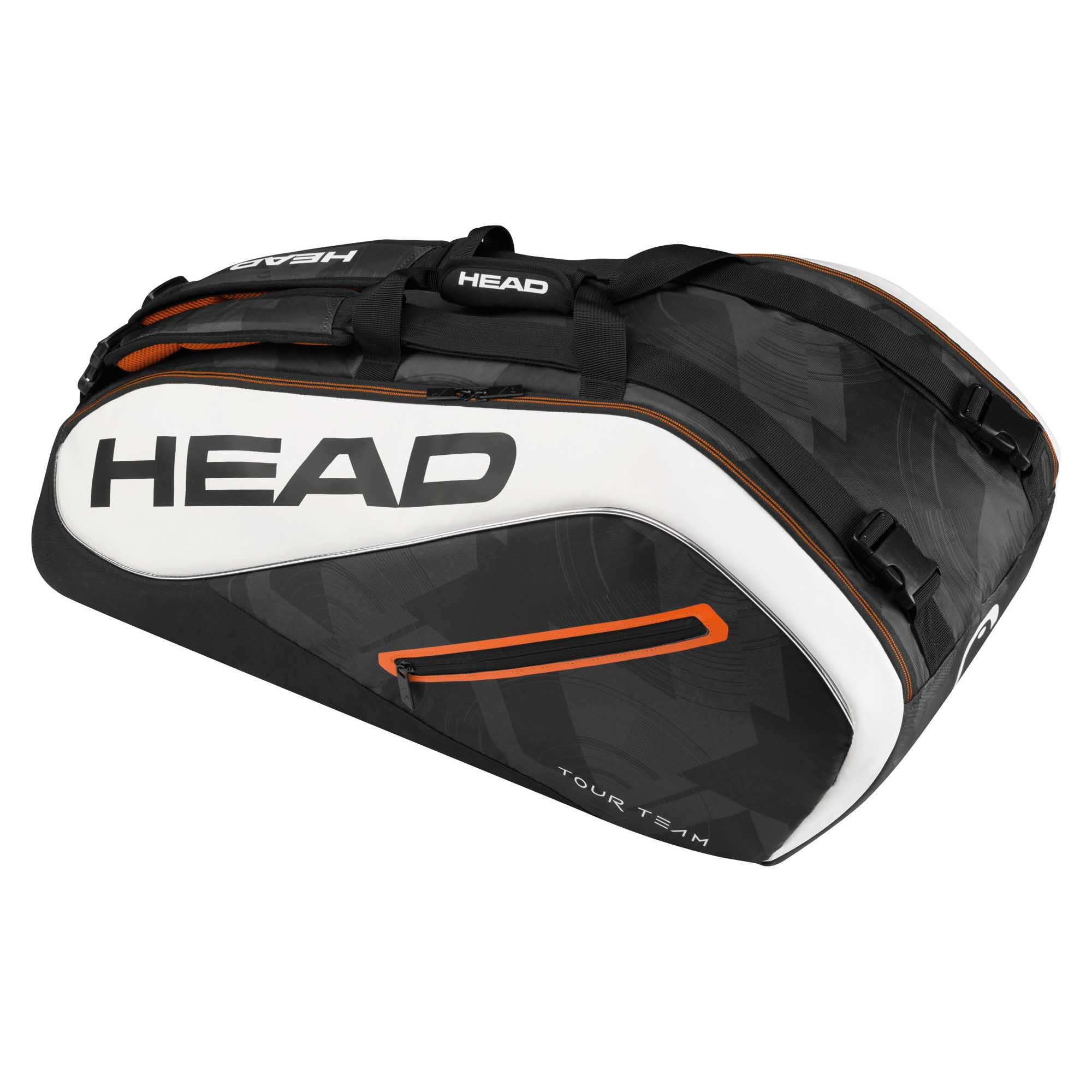 Head Tour Team Supercombi 9 Racket Bag  BlackWhite