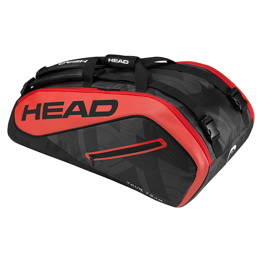 Head Tour Team Supercombi 9 Racket Bag  BlackRed
