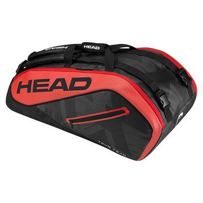 Head Tour Team Supercombi 9 Racket Bag SS17 - Black/Red