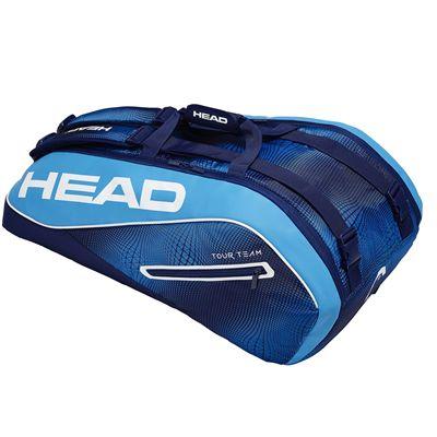 Head Tour Team Supercombi 9 Racket Bag SS19 - Blue