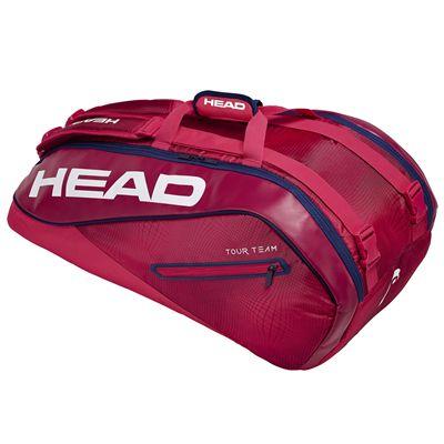 Head Tour Team Supercombi 9 Racket Bag SS19 - Red
