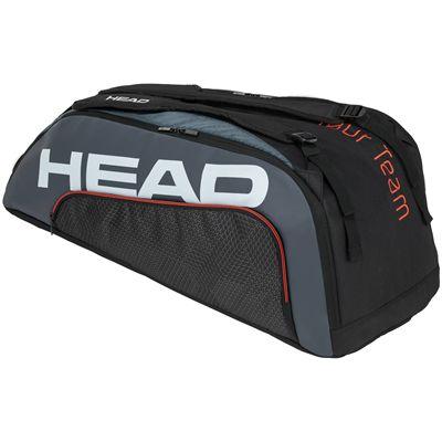 Head Tour Team Supercombi 9 Racket Bag SS20 - BlackGrey