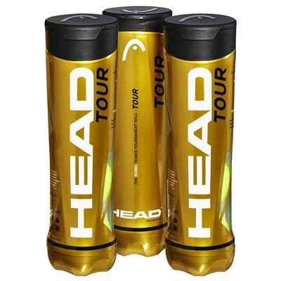 Head Tour Tennis Balls - 1 Dozen Box