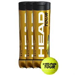 Head Tour Tennis Balls - 1 Dozen