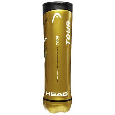 Head Tour Tennis Balls - 6 Dozen - Side
