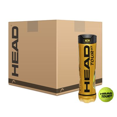 Head Tour XT Tennis Balls - 12 Dozen
