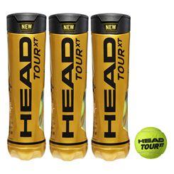 Head Tour XT Tennis Balls - 1 Dozen