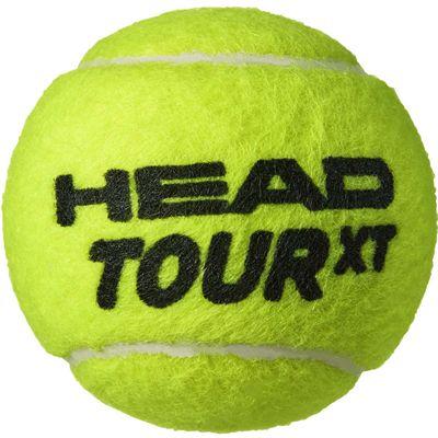 Head Tour XT Tennis Balls - Tube of 4 - Ball