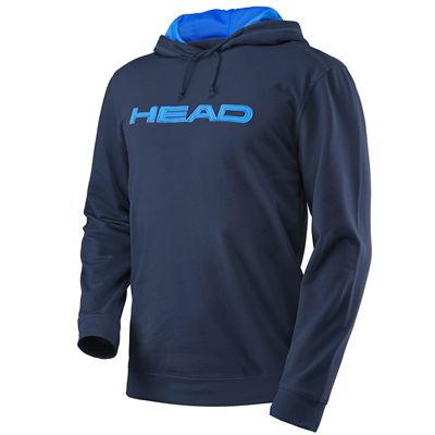 Head Transition Byron Mens Hoody-Navy and Blue - Aqua