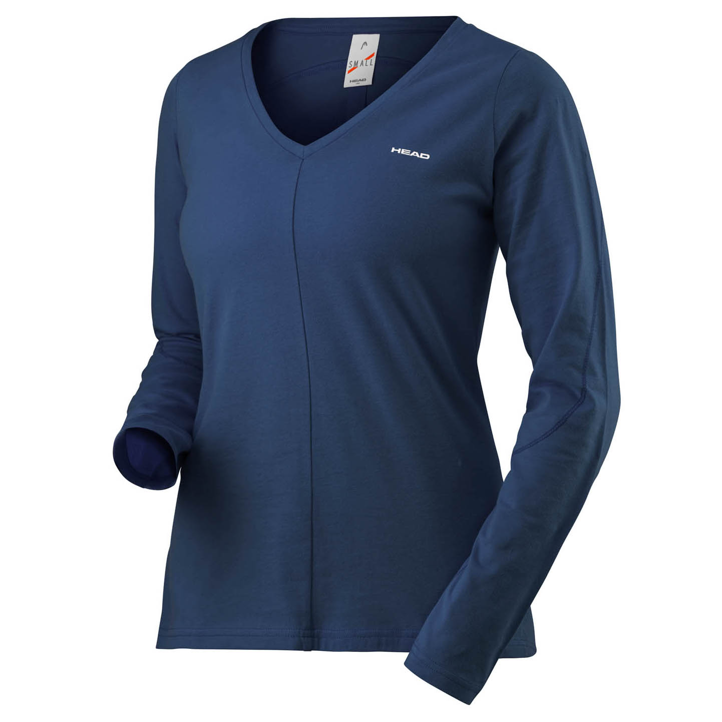 Head Transition Ladies Long Sleeve Top - Navy, S