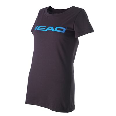 Head Transition Lucy II Ladies T-Shirt-Black and Blue
