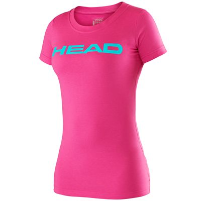 Head Transition Lucy II Ladies T-Shirt-Pink and Blue