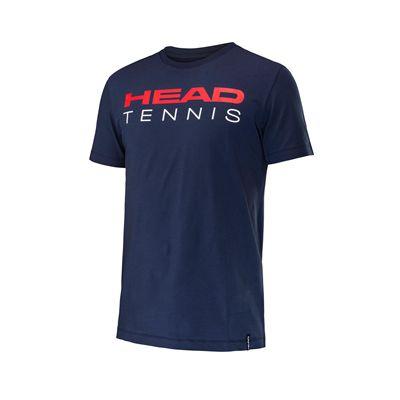 Head Transition Pier Mens Tennis T-Shirt - Navy