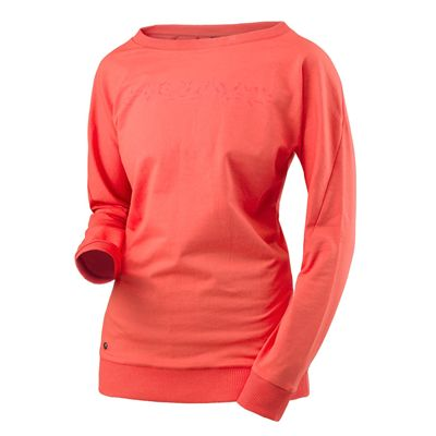 Head Transition Sweat Ladies Long Sleeve Top - Coral