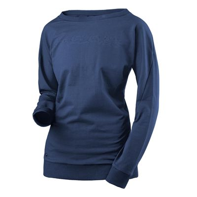 Head Transition Sweat Ladies Long Sleeve Top - Navy