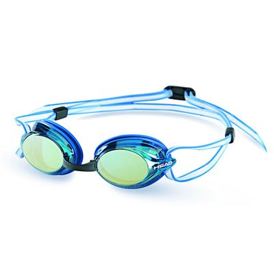 Head Venom Mirrored Goggles Blue Frame Blue Lenses