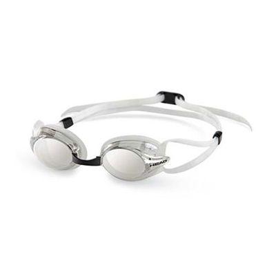 Head Venom Mirrored Goggles Clear Frame Clear Lenses