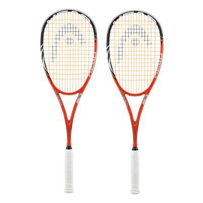 Head Xenon2 135 Squash Racket Double Pack