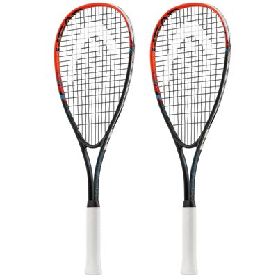 Head Xenon Ti. Junior Squash Racket Double Pack