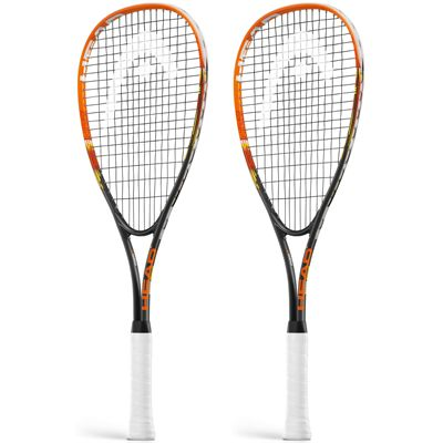 Head Xenon Ti Junior Squash Racket Double Pack