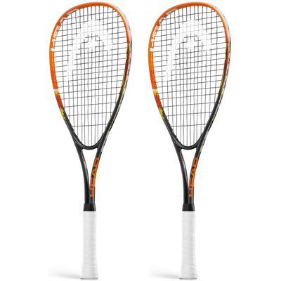 Head Xenon Ti Junior Squash Racket Double Pack