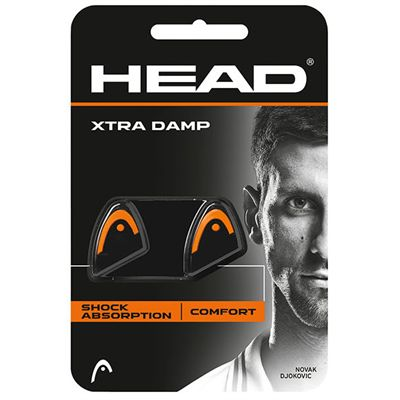 Head Xtra Damp Vibration Dampener - Pack of 2 - Orange And Black