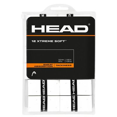 Head Xtreme Soft Overgrip - Pack of 12 - White