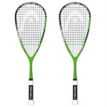 Head YouTek IG Tour 120 Squash Racket Double Pack